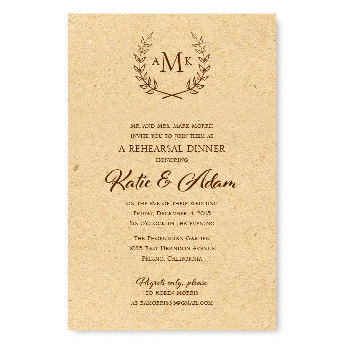 etiquette rehearsal dinner invitations american wedding