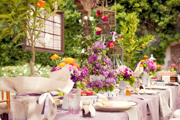 Floral Reception