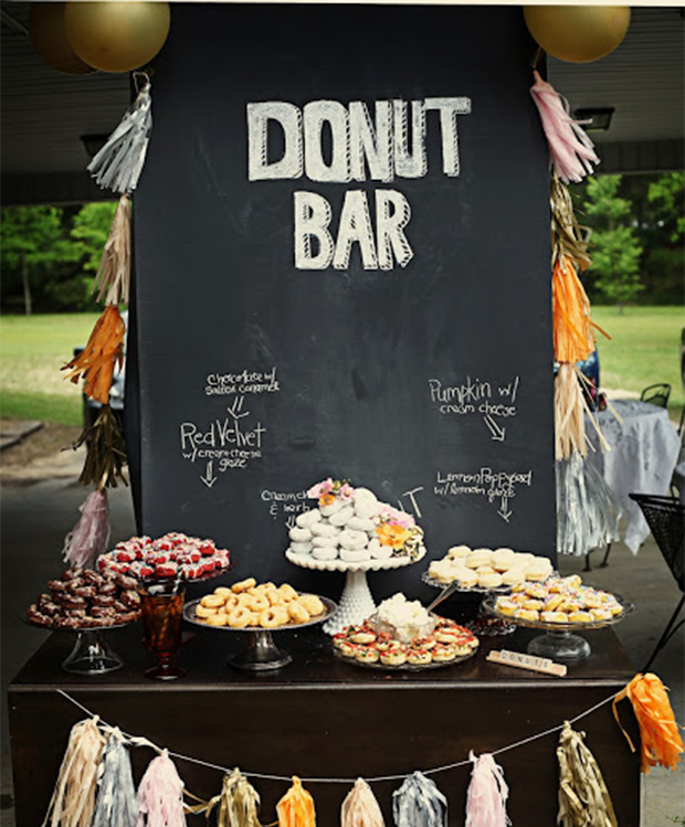 Trend Unique Wedding Reception Dessert Ideas
