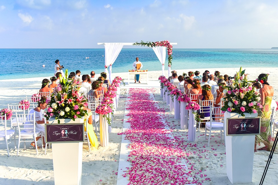 wedding ceremony in the florida keys
