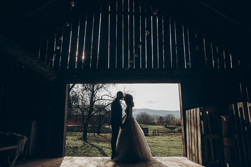 Classic barn wedding